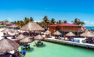 Some of the Best Beach Bars in Belize. From Dock to Bar in less than a minute