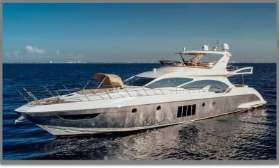 Florida Yacht Charter – Enjoy Cruising On This Luxury 70′ Azimut Motor Yacht