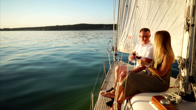 wine on a sailboat