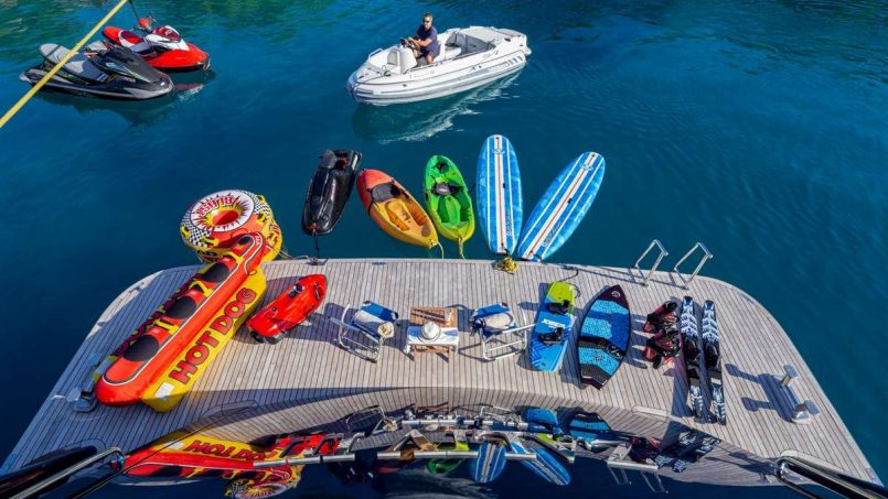 Enjoying Water Activities While Aboard Your Yacht